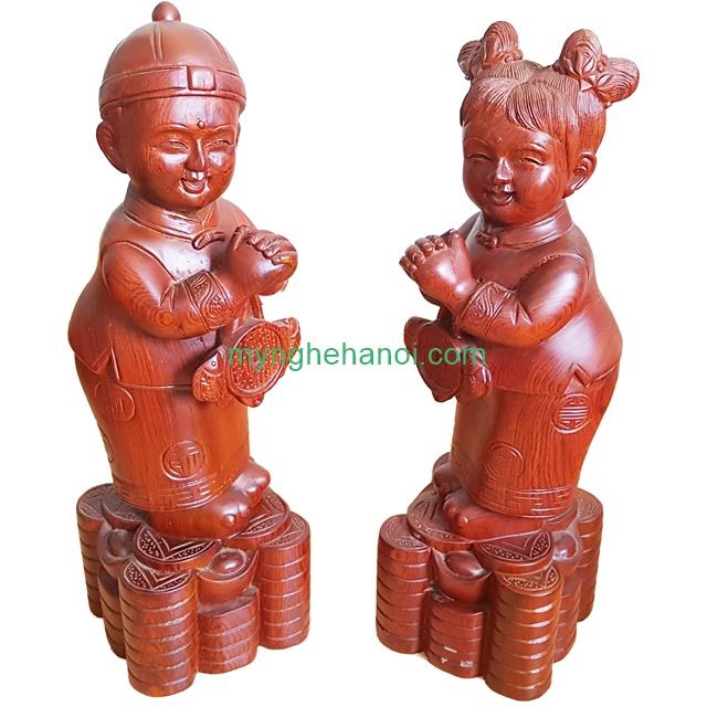 tieu-dong-chuc-phuc-go-huong-40x12x12cm-001
